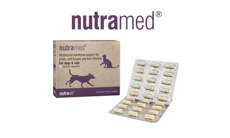 Nutramed for dogs & cats 60 capsules